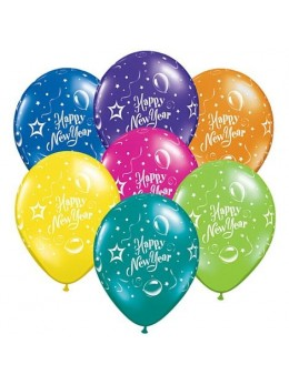 10 Ballons Happy New Year