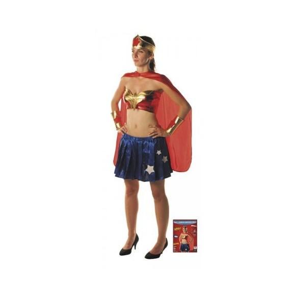 Set super héroine