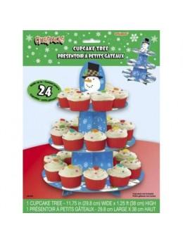 Présentoir à Cupcakes de Noël