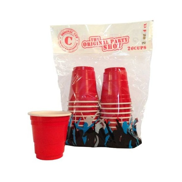 "20 shooters ""original Red Cup"""