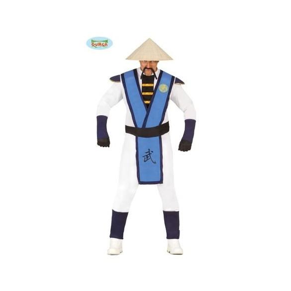 Déguisement Kung Fu blanc