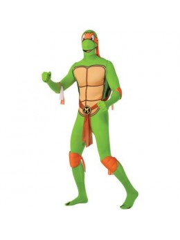 Déguisement Morphsuit ninja Michelangelo