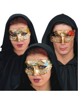 Masque loup vénitien thème musique
