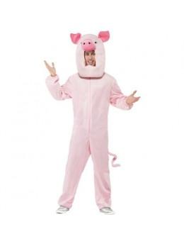 Déguisement cochon mascotte