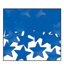confetti étoiles bleu