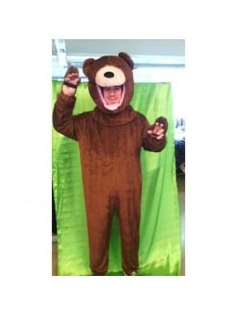 Déguisement ours en peluche