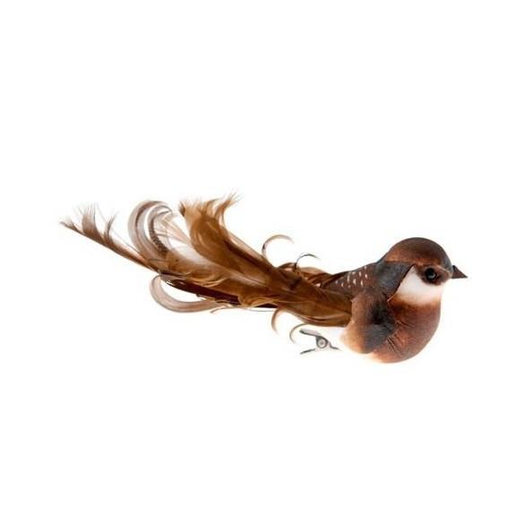 2 grands oiseaux sur pince chocolat