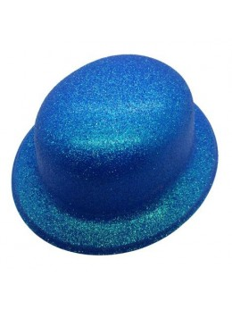 Melon paillettes fluo bleu