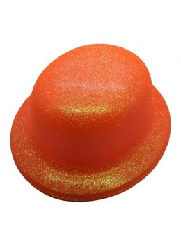Melon paillettes fluo orange