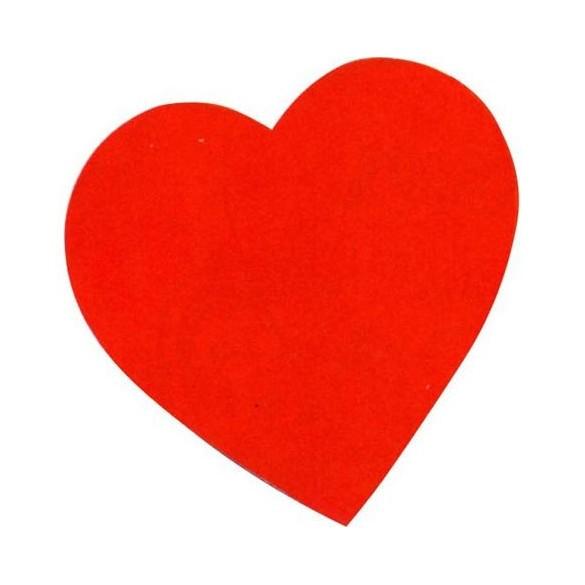 Coeur carton 38cm