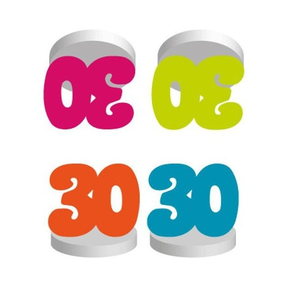 4 Marques places anniversaire 30 ans