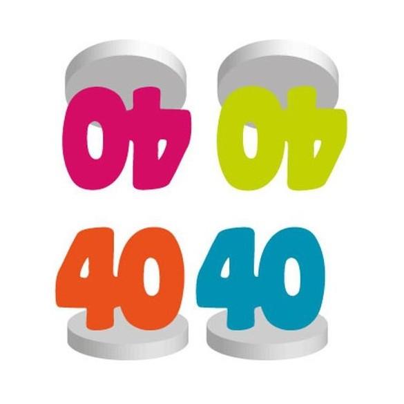 4 Marques places anniversaire 40 ans