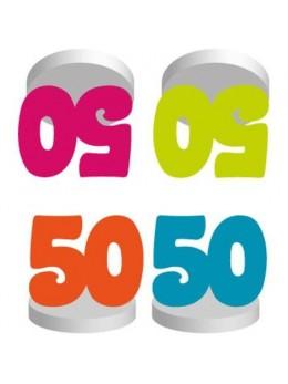 4 Marques places anniversaire 50 ans