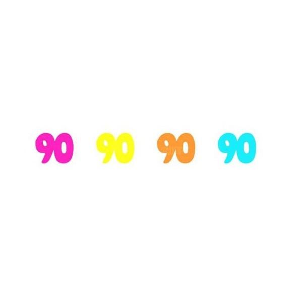 Sachet 100 confetti intissé 90 ans