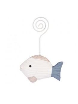 Marque place poisson 12cm