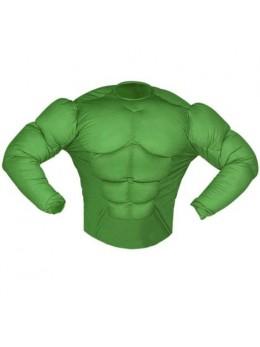 Déguisement chemise Hulk adulte