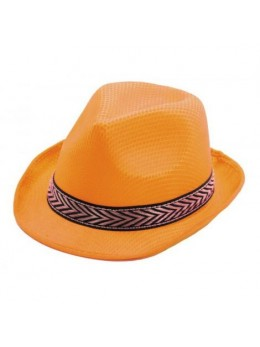 Chapeau Tony polyester orange