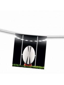 Guirlande papier transformation de rugby