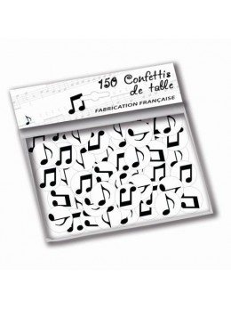 150 confetti de table notes de musique