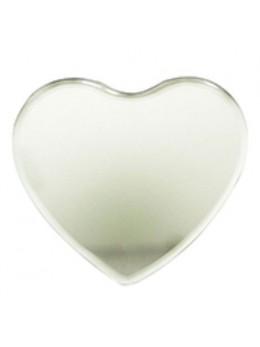 Miroir de déco coeur 11.5cm