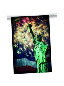Guirlande USA New York drapeau