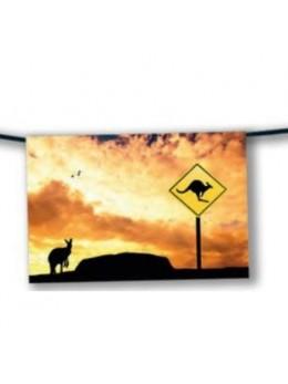 Guirlande Australie kangourou