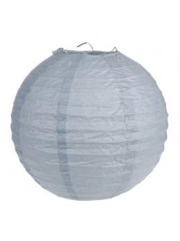 2 Lampions ballons gris