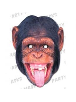 Masque carton chimpanzé