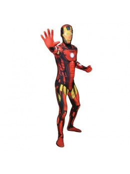 Déguisement Morphsuit Ironman luxe