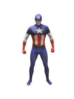 Déguisement Morphsuit Captain America