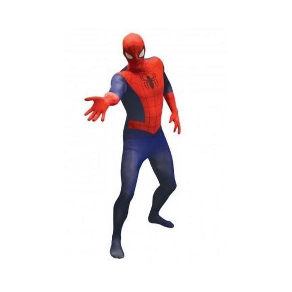Déguisement Morphsuit Spiderman classique