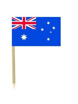 50 Mini drapeaux luxe Australie
