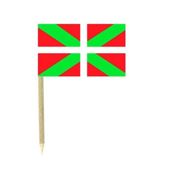 50 Mini drapeaux luxe Pays Basque