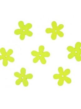 Confetti Flower bois vert