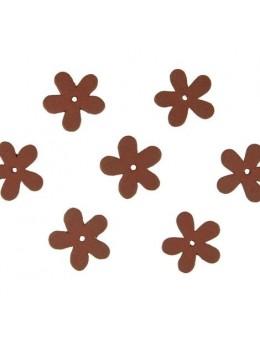 Confetti Flower bois chocolat
