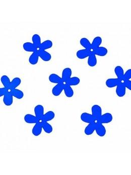Confetti Flower bois marine