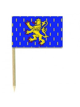 50 Mini drapeaux luxe Franche comté