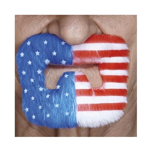 Moustache bouc USA