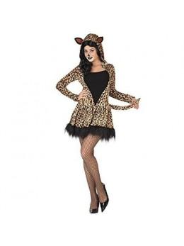 Déguisement fille léopard