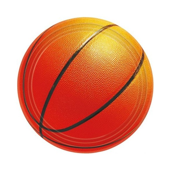 8 Assiettes basketball