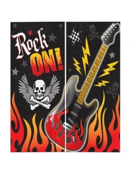 Déco poster rock