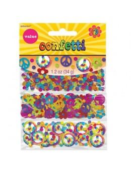 Confetti 3 thèmes Hippie