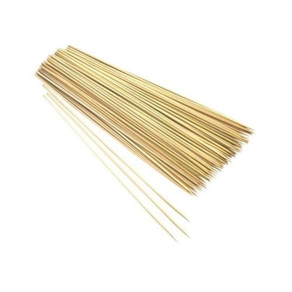 50 brochettes 30cm en bambou