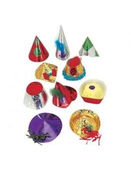 150 Chapeaux holographiques PM