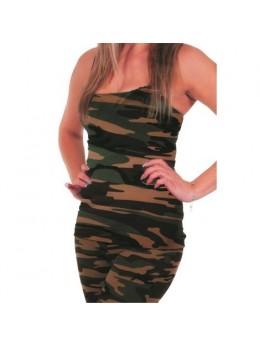 Déguisement T-shirt militaire femme