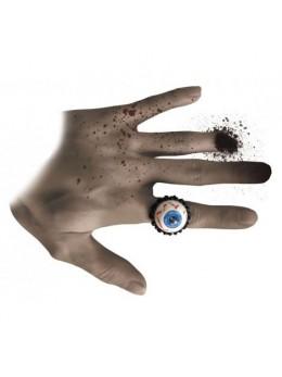 Bague oeil bleu