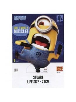 """Figurine geante 71 cm en carton """"© Minions"""" Stuart"""