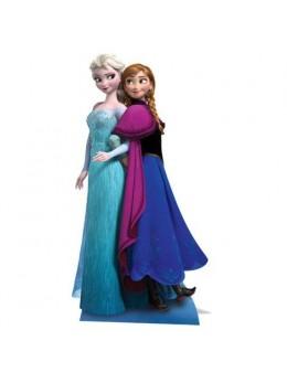 """Figurine géante """"© La Reine des Neiges """" Anna et Elsa"""