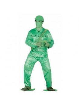 Déguisement Soldat Vert jouet