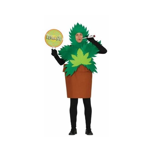Déguisement plante de canabis